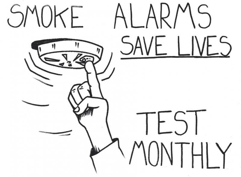 test smoke alarms